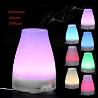 Uniqus 2018 Nuevo 100 mL Colorido luz eléctrica Aroma Difusor Aroma humidificador ultrasónico portátil aromaterapia difusor