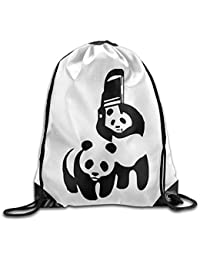 Sika Deer Drawstring Backpack Rucksack Shoulder Bags Training Gym Sack For Man And Women