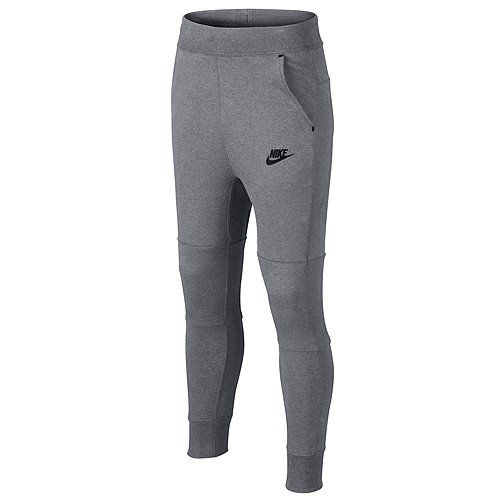NIKE Jungen Hosen TECH FLEECE PANTS YTH, Grau, M, 728207-091 (Fleece Yth Pant)