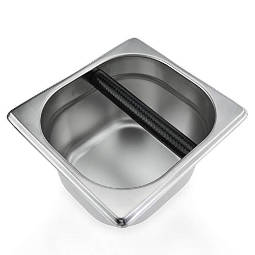 Coffee Knock Box Stainless Steel...