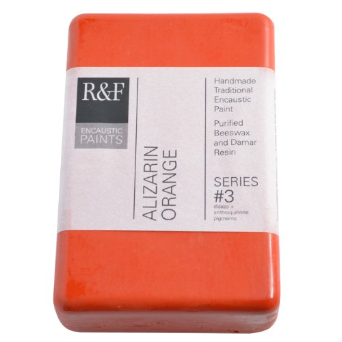 R & F Encaustic 333ml alizarina Arancione