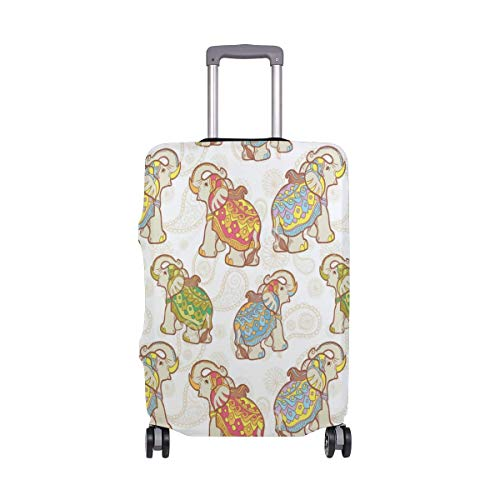 Travel Suitcase Protectora Creepy Cat Luggage Cover 29-32Inch M
