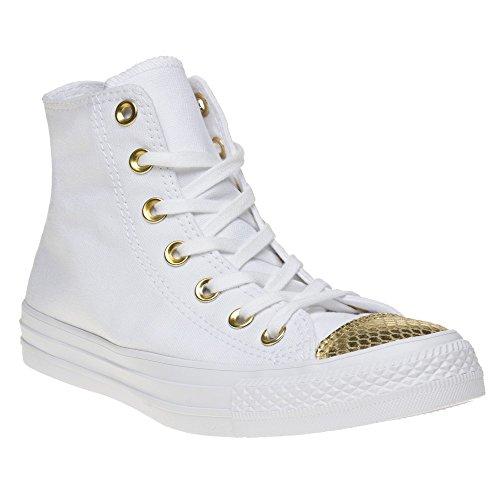 converse-damen-all-star-metallic-toecap-lauflernschuhe-sneakers-weiss-white-gold-white-39-eu