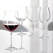 Spiegelau & Nachtmann, 4-teiliges Rotwein-Ballon Set, Kristallglas, 613 ml, Vivendi, 0092036-0