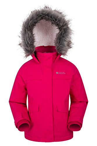 Mountain Warehouse Samuel Kinder Wasserabweisende Winterjacke -Parka- Kinderjacke
