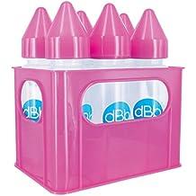 dBb-Remond Rack mit PP Baby Flaschen, 9oz, Pink, 6Stück