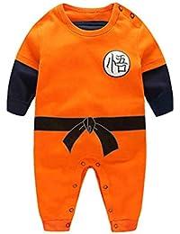 Dragon Ball Z Design Baby Jungen Mädchen Strampler Cosplay Kostüm Goku-inspiriert Säugling Outfit Overall Kleidung