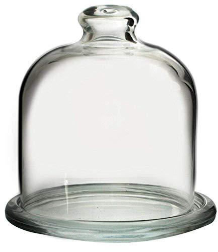 Pasabche - Juego cúpula plato cristal magdalenas