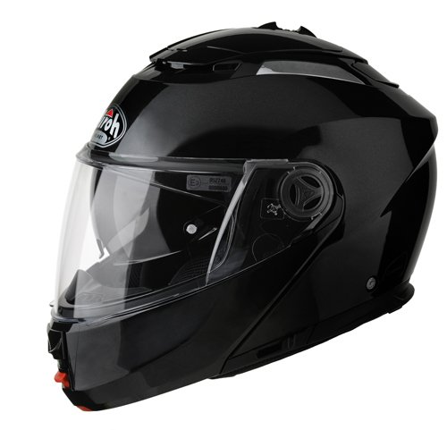 Airoh PH106L Casco Abatible, Color Negro, Talla 59-60 (L)