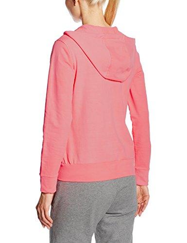 CMP veste de jogging à capuche pour femme Rouge - Rouge fluo