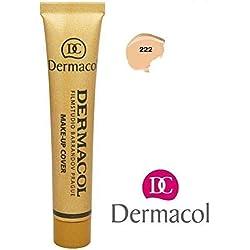 Dermacol Make-up Cover - Fond de teint Haute couvrance Résistant à l'eau SPF30 (222)