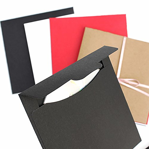 20pcs-single-cd-dvd-kraft-paper-sleeves-simple-craft-disc-sleeve-storage-holder-5inch-black-kraft