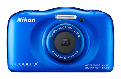 Nikon Coolpix S33 Digitalkamera (13,2 Megapixel,...