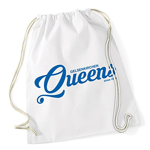 Gelsenkirchen Queens Sac De Gym Blanc Certified Freak