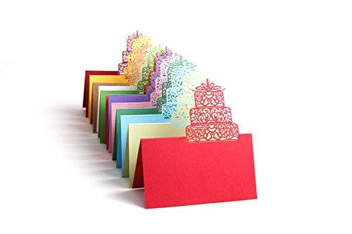 heartmoon RSVP Notizen Hauch Board Einladung Card Thank You Miss You Congratulations Grußkarte Jahrestag Hochzeit Karte für Mom Mann Frau ihn Dad (Mehrfarbig)