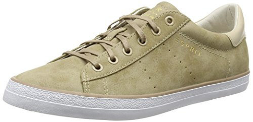 ESPRIT Miana Lace Up Damen Sneakers Beige (240 taupe)