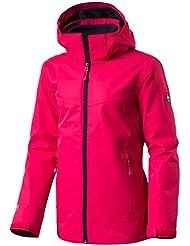 McKinley Chaqueta doble Justin para niña, Otoño-invierno, niña, color rosa, tamaño small