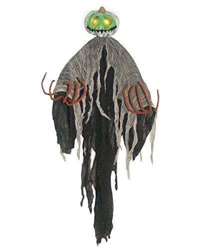 Kürbisgeist Hängefigur mit LED 120cm für (Halloween Animatronics)