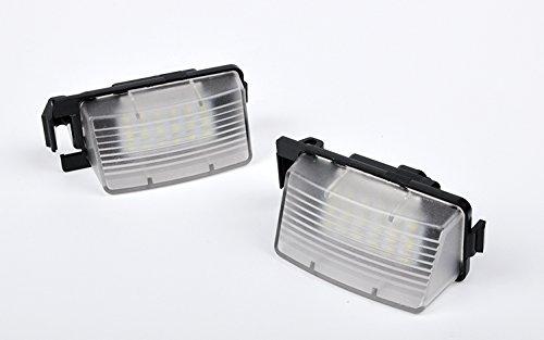 JDWG 2pcs luce luce targa led bagagliaio 65000k auto auto bianca ha condotto tronco luce luce del bagagliaio per Nissan Infiniti - 2009 Infiniti G35 Coupe