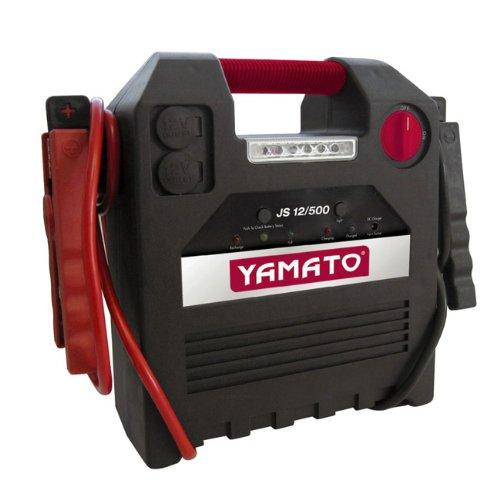 Avviatore elettrico auto multifunzione compressore e torcia con accessor JS12-500