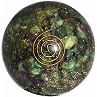 Crocon Rubin Zoisit Reiki Healing Energetische Kristall Kugel Ball mit Ständer für Chakra Balancing Aura Cleansing... preisvergleich bei billige-tabletten.eu