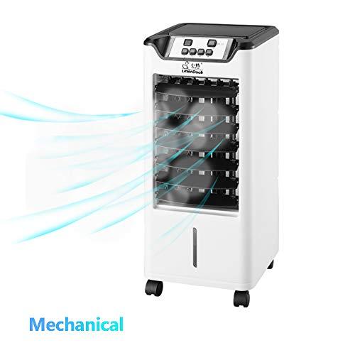 HOMRanger Mobile Klimaanlage,Fernbedienung Purifier Humidifier 4 Caster Wheels Luftkühler Für Indoor Home Office Wohnheime-b 57x25x25cm(22x10x10inch)