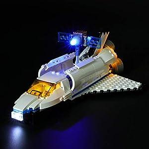LIGHTAILING Set di Luci per (Creator Esploratore Spaziale) Modello da Costruire - Kit Luce LED Compatibile con Lego… 0716852281930 LEGO