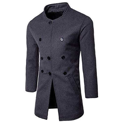 TWBB Herren Bekleidung Winter Cardigan Lange Pullover Sweatshirt Mantel Outwear Oberteile Mit Button