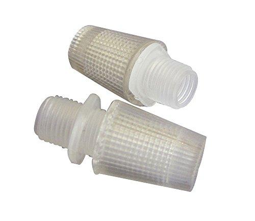 Tibelec 733930 Serre-Câble Plastique Clair Lot de 2