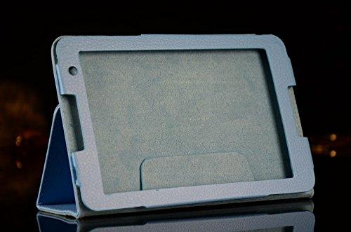 WiTa-Store Schutzhülle für Lenovo IdeaTab A8-50 8.0 Zoll Smart Slim Case Book Cover Stand Flip A5500 A5500-H (Hellblau)