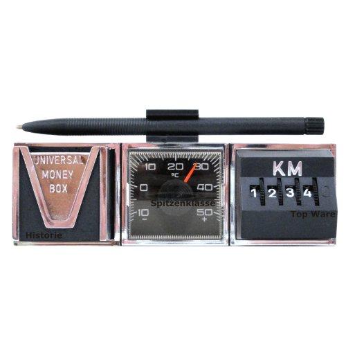 1974 PKW Kombi Instrument Thermometer Kilometerzähler Münzbox