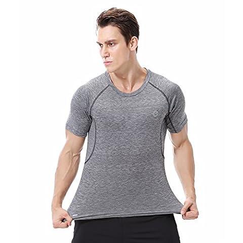 Hommes Basket-ball t-Shirt Tech Short Sleeve Tee Pour Sport