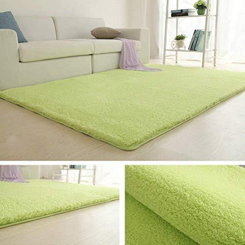 Salon Chambre à coucher tapis de maison moderne minimaliste Tapis de chevet Rectangle (Couleur verte, Taille: 120x160cm) (coloré : -, Taille : -)