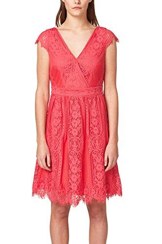 ESPRIT Collection Damen Partykleid 038EO1E021, Rosa (Pink Fuchsia 660), Medium