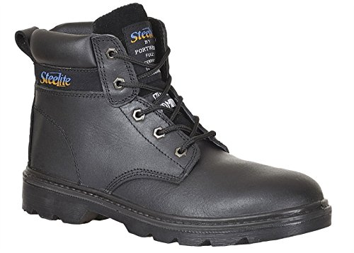 Chaussures de sécurité montantes Brodequin Portwest Thor S3 Steelite noir