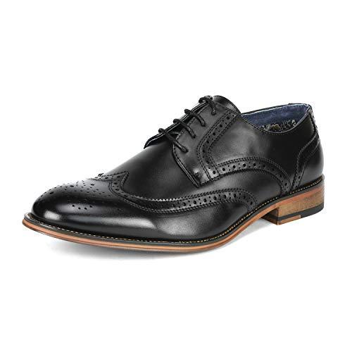 eaef75f82 Bruno Marc Louis Zapatos de Vestir Formal Oxford Clásico para Hombre