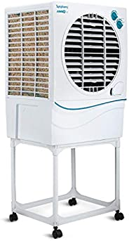 Symphony Jumbo 41 Desert Air Cooler 41-litres with Trolley, Powerful Fan, Whisper-Quiet Performance, 3-Side Co