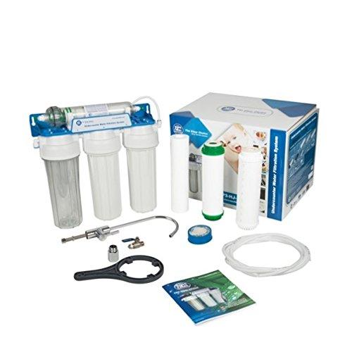 4 Stufen Wasserfilter + Kapillarmembrane Küchen Trinkwasser Osmose Filter Aquarium Osmose