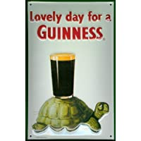 Tartaruga Guinness Rilievo 3d Vintage in latta