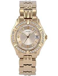 Guess - W0148L2 - Sparkling - Montre Femme - Quartz Analogique - Cadran Doré - Bracelet Acier Doré