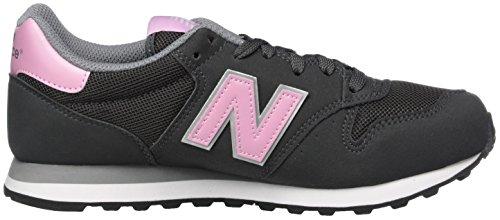 New Balance Donna W Custom Classic Int scarpe sportive Grigio (Grey/pink)