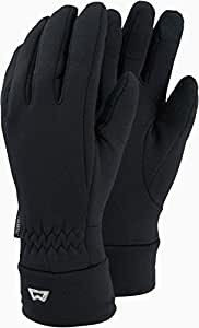 Mountain Equipment Damen, Herren Fleece Handschuhe schwarz S