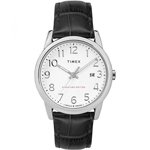 Timex Orologio Analogico Automatico Unisex Adulto con Cinturino in Pelle TW2R64900