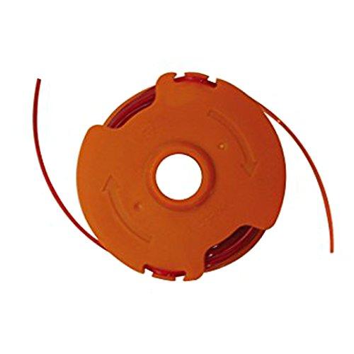 WORX WA0008 Rasentrimmer Faden für den WORX Rasentrimmer WG118E & WG119E | Strapazierfähige Ersatzfaden Spule mit 2x5m Länge & 1,65mm Ø Durchmesser
