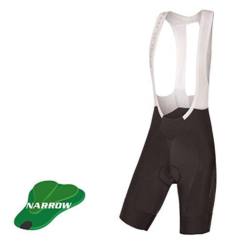Endura Damen Pro SL Bib Short Drop Seat II (Narrow-Pad), Damen, Schwarz, Large - Pearl Izumi Triathlon Shorts