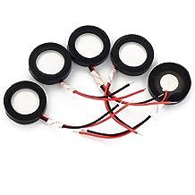 Ultrasónico Mist Maker 25mm Atomizing Transductor piezoeléctrico cerámica humidificador Parts 5pcs/lot & # xFF0C; adecuado para todas las humidificador de 25mm y nebulizadores uso