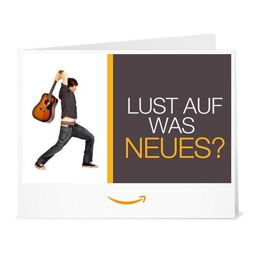 Amazon.de Gutschein zum Drucken (Lust auf was Neues)