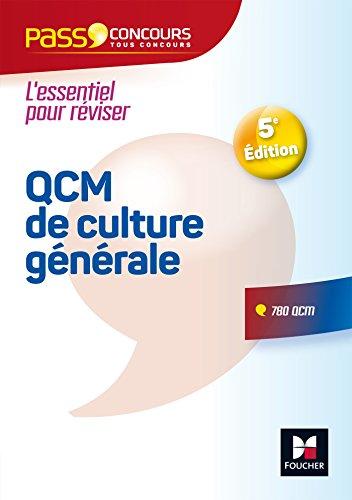Pass'Concours - QCM de culture gnrale - Tous concours - Entrainement et rvision