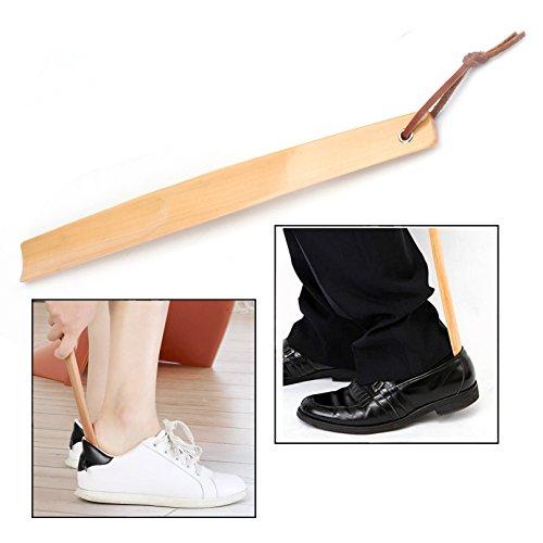 Ecloud Shop/® 30cm de largo Super Extra maneja Durable resistente dura madera calzador