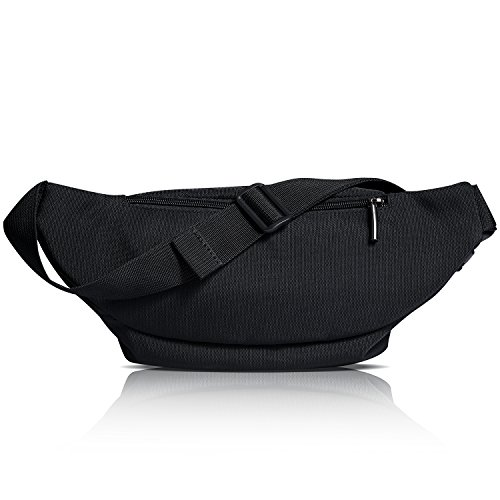 41YyoyE7MEL. SS500  - FREETOO Large Bum Bag 32.7 to 45.3 Inch Size Waist Travel Pouch Fanny Pack with 6 Zipped Pockets Ideal For Hiking Travel Holidays Festivals